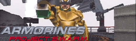 Banner Armorines Project SWARM