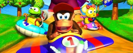 Banner Diddy Kong Racing