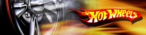 Banner Hot Wheels Turbo Racing