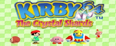 Banner Kirby 64 The Crystal Shards