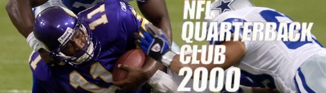 Banner NFL Quarterback Club 2000