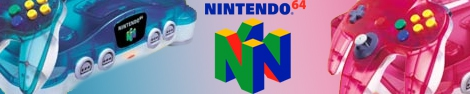 Banner Nintendo 64 Clear Edition