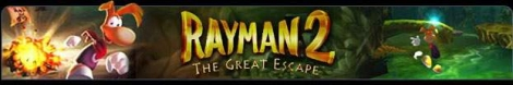 Banner Rayman 2 The Great Escape
