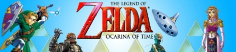 Banner The Legend of Zelda Ocarina of Time