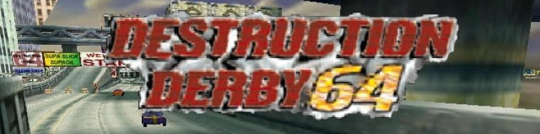 Banner Destruction Derby 64