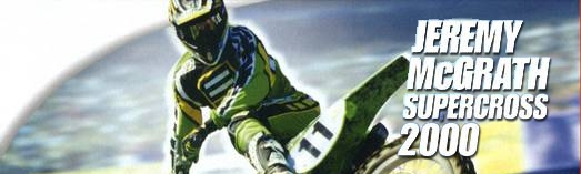 Banner Jeremy McGrath Supercross 2000