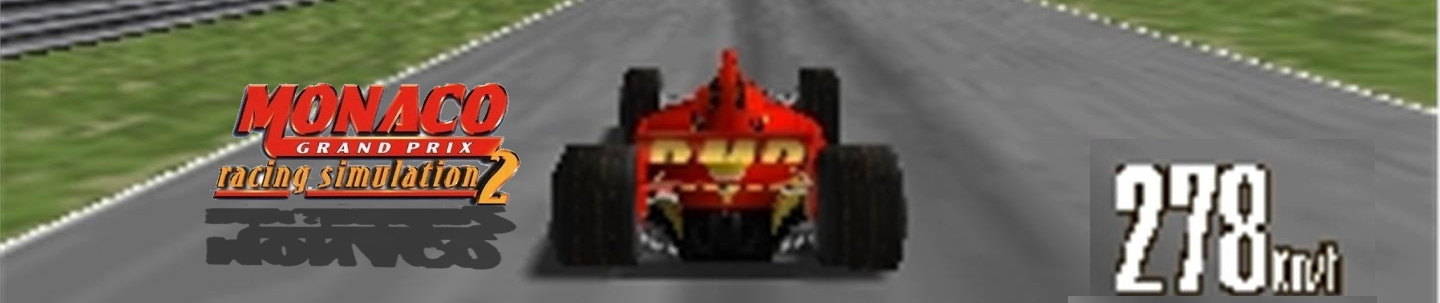 Banner Monaco Grand Prix Racing Simulation 2