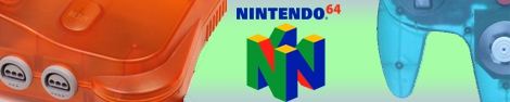 Banner Nintendo 64 Color Edition