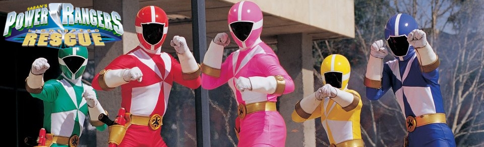 Banner Power Rangers Lightspeed Rescue