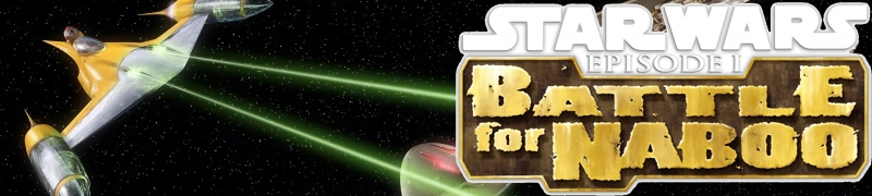 Banner Star Wars Episode I Battle for Naboo