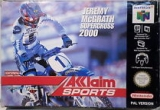 Jeremy McGrath Supercross 2000 voor Nintendo 64