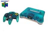 Nintendo 64 Clear Blue & Controller voor Nintendo 64