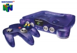Nintendo 64 Grape & Controller voor Nintendo 64