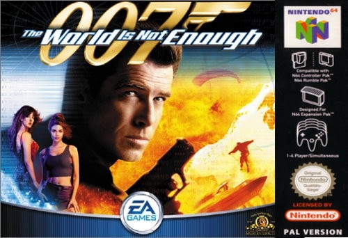 007: The World is Not Enough-cover game 64/ best game n64