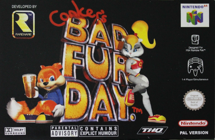 Boxshot Conker's Bad Fur Day
