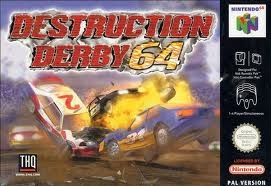 Boxshot Destruction Derby 64