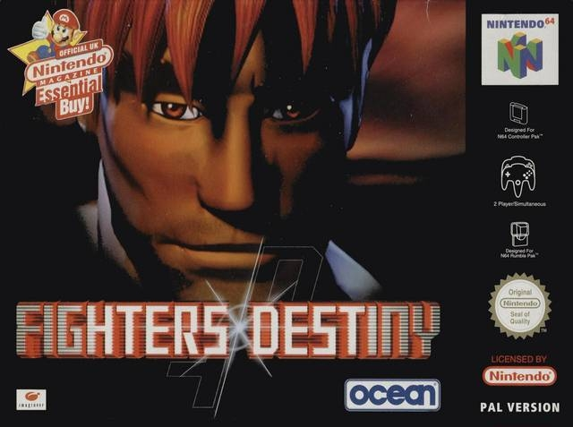 Boxshot Fighters Destiny