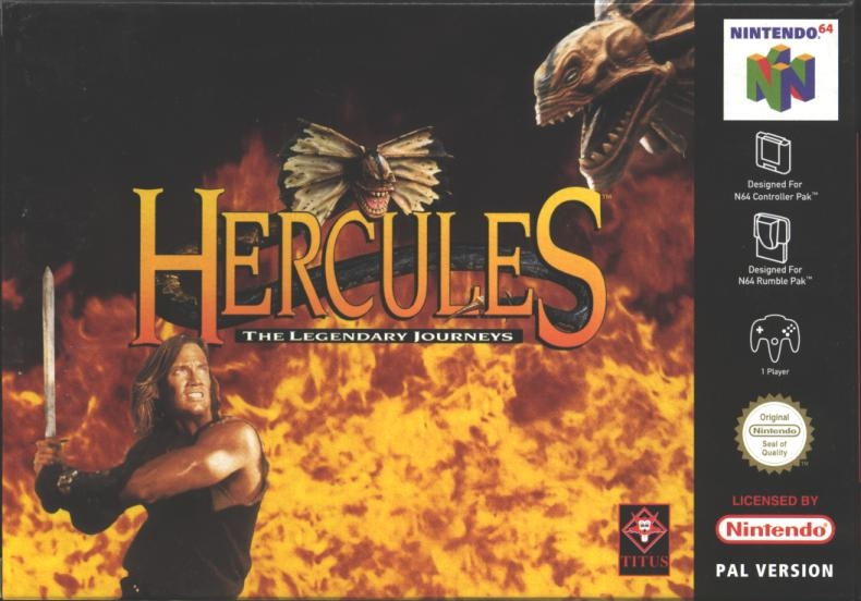 Boxshot Hercules: The Legendary Journeys
