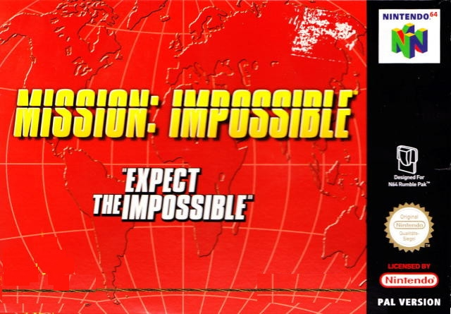 Boxshot Mission: Impossible