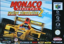 Boxshot Monaco Grand Prix Racing Simulation 2