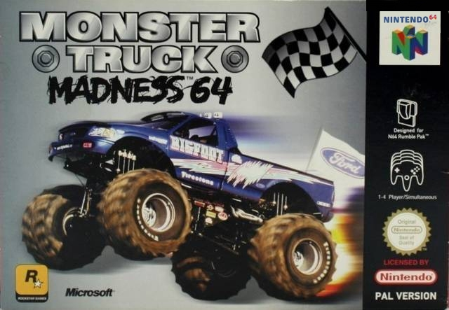 Boxshot Monster Truck Madness 64