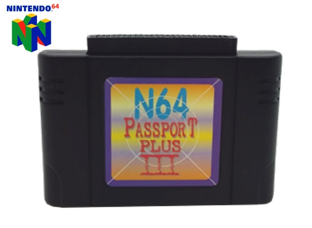 Boxshot N64 Passport Plus III