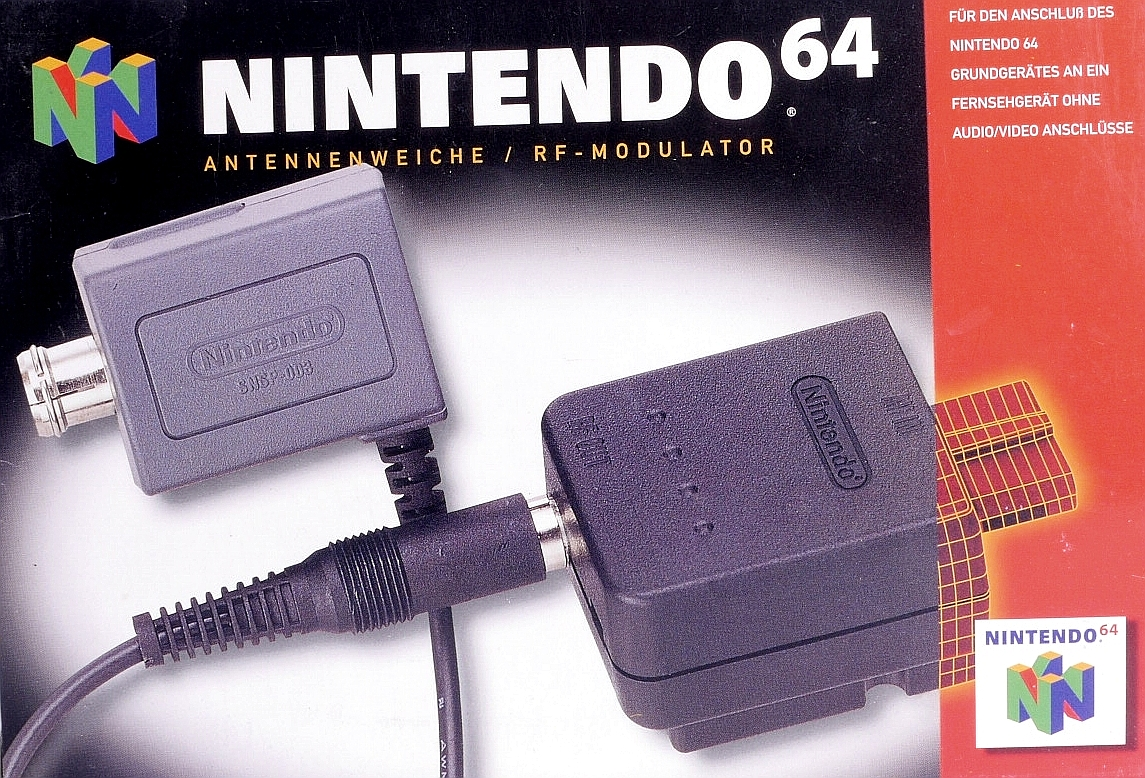 Boxshot Nintendo 64 RF Switch