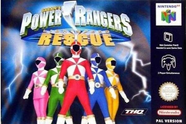 Boxshot Power Rangers: Lightspeed Rescue