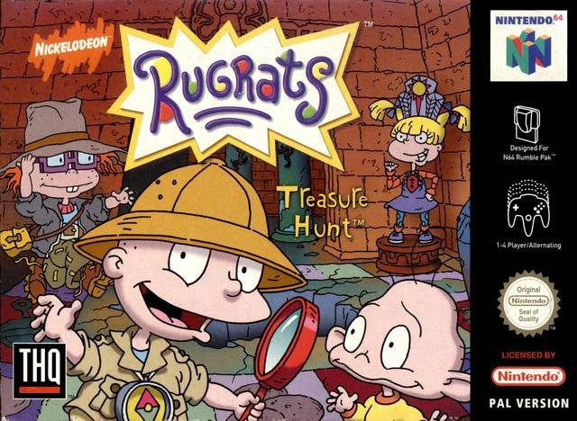 Boxshot Rugrats: Treasure Hunt
