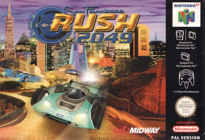 Boxshot San Francisco Rush 2049