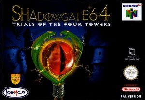 Boxshot Shadowgate 64: Trials of the Four Towers