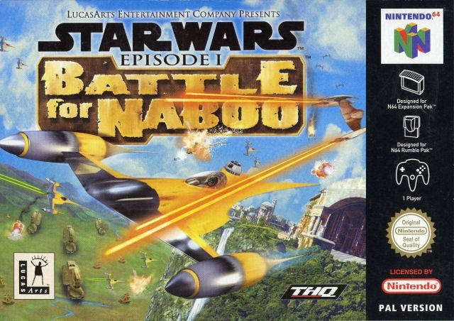 Boxshot Star Wars: Episode I: Battle for Naboo