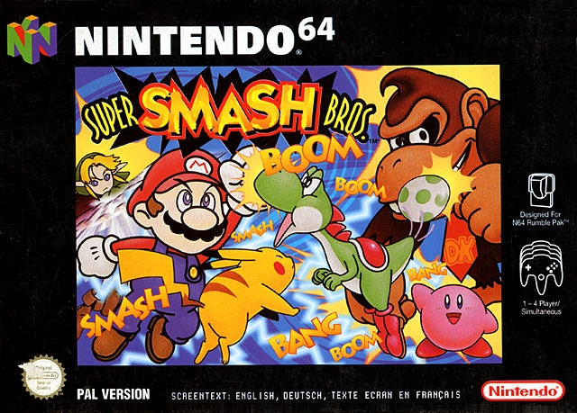 Boxshot Super Smash Bros.