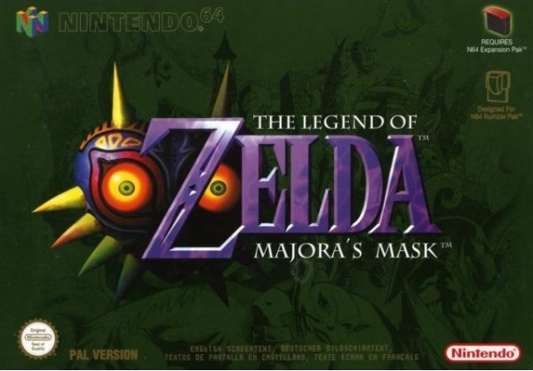 Boxshot The Legend of Zelda: Majora's Mask