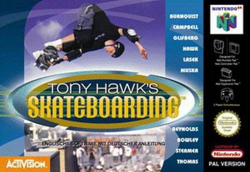 Boxshot Tony Hawk's Skateboarding