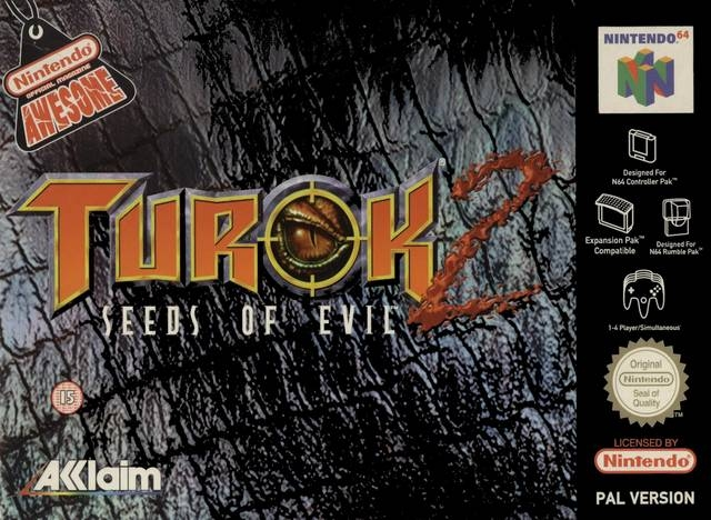 Boxshot Turok 2: Seeds of Evil