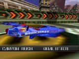 Speel als voertuigen die net iets te veel op die uit F-Zero lijken!