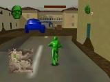 Deze game speelt zich af in een oorlogsgebied, gemaakt van speelgoed.