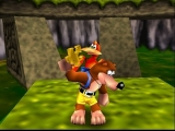Speel als Banjo de beer en Kazooie de vogel!