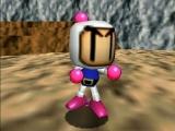 Speel als de klassieke <a href = http://www.mario64.nl/Nintendo-64-spel.php?t=Bomberman_64 target = _blank>Bomberman</a>!