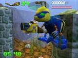 Speel als Buck Bubmle, een cyborghommel op een missie om  gemuteerde insecten te verslaan!