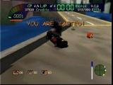 Deze game is niet echt een racegame, meer een vechtgame met auto's.