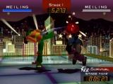 """Hee kijk, het is Chun-Li, eh, """"Meiling"""" tegen """"Meiling""""."""