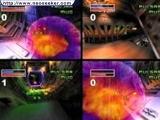 Heftige multiplayer gevechtsmode: voor 4 spelers met gedeeld scherm
