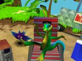 Speel als Gex, een vergeten videogame-icoon.