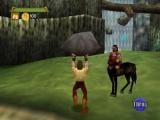 Deze game zit vol bekende mythische figuren, zoals deze centaur!