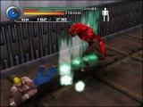 Als je tegen een monster vecht, verandert de game van een 3D adventuregame in een fighter.