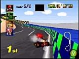 Mario Kart 64 is geschikt voor 1 tot 4 spelers.