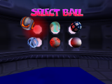 Speel met verschillende bowlingballen, die allemaal anders werken!