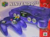 Op de doos is duidelijk aangegeven om welke kleur Nintendo 64 het gaat.